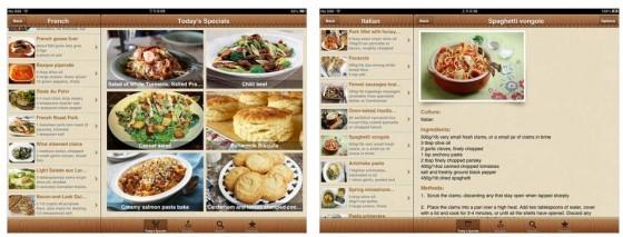 Die Rezepte-App Welt Rezepte bietet Gerichte aus allen Teilen der Welt - nur aus Deutschland nicht. Aber dafür gibt es ja zahlreiche deutsche Rezepte-Apps, wie zum Beispiel Chefkoch oder Kochrezepte.de