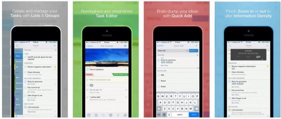 Auch wenn die App Store Beschreibung in englischer Sprache ist: 2Do ist komplett in deutscher Sprache.