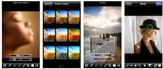 Die iPhone Version Photo fx hat etwas weniger voreingestellte Effekte, kommt auf 878. Dafür sind 76 Filter die Basis.