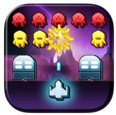 Gute Space Invaders Umsetzung für iPhone und iPod Touch heute gratis