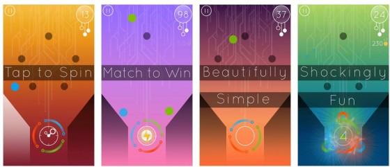Klares, farbenfrohes Design, ein einfach verständliches Reaktionsspiel mit dem gewissen Etwas, das ist die Neuerscheinung Fallen für iPhone und iPad.