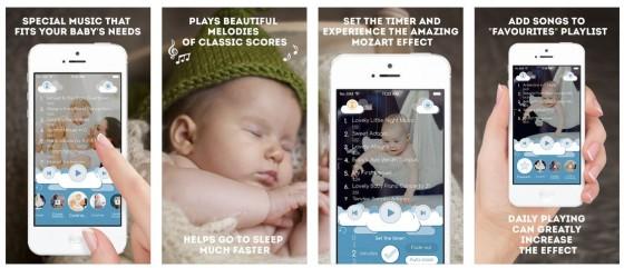 Baby Musik Pro enthält zwolf Alben mit Musik von Mozart - perfekt zum Einschlafen - nicht nur für die Kleinen.