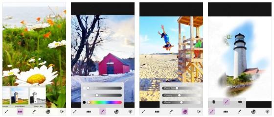 Du kannst nicht malen? Doch, Du kannst. Ein iPhone oder iPad und die App MobileMonet reichen aus.