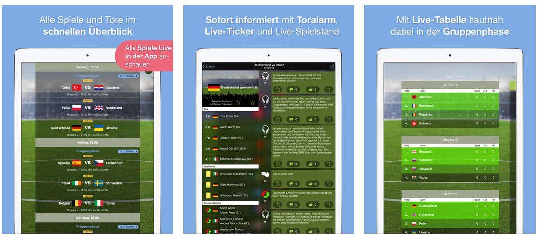 Europameisterschaft App