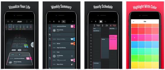 Individuelle Kalenderansichten erlaubt die Kalender-App Vantage.
