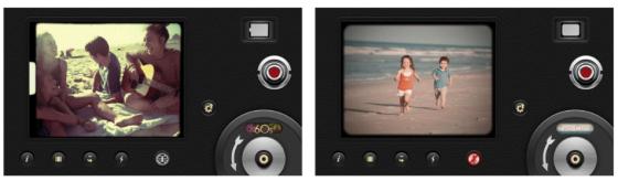 Ob Stummfilm, 60th oder 70ths - mit 8 mm Vintage Camera holst Du Filmgeschichte in Deine Clips.