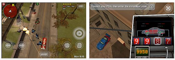 Kostenlose Probierversion für iPhone und iPod Touch: Grand Theft Auto: Chinatown Wars Lite