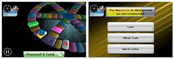 Triviual Pursuit Screenshot für iPhone