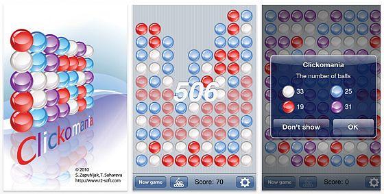 Clickomania Screenshot
