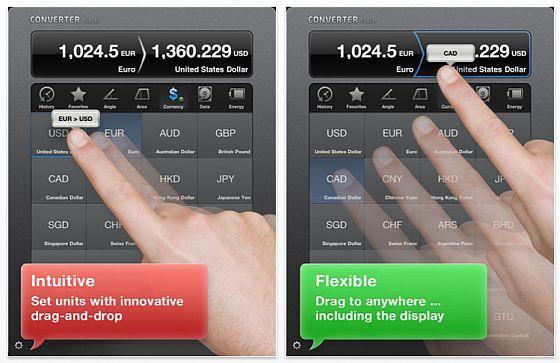 Converter Touch HD Screenshot