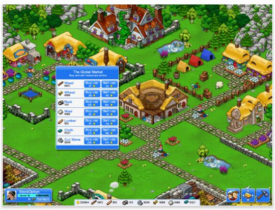 Aufbauspiel App