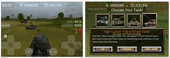 BattleZone 3D King of the Hill - Screenshots - Panzerspiel für iPhone und iPod Touch