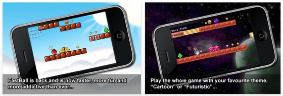 Fastball2 für iPhone und iPod Touch Screenshot iPhone Spiele