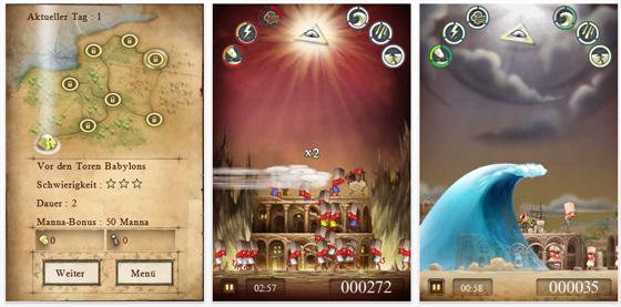 Babel Rising für iPhone und iPod Touch von Bulkypix - Screenshot