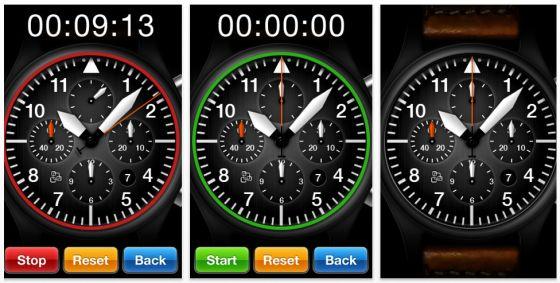 Chronograph App für iPhone und iPod Touch von The App Gate - Screenshot
