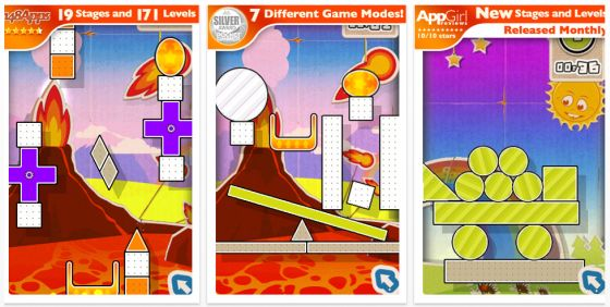 Finger Physics: Finger Fun Spiel für iPhone und iPod Touch Screenshot