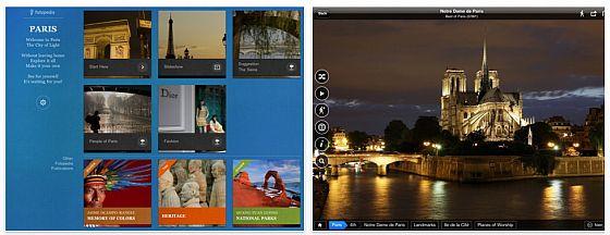 Fotopedia Paris Screenshots