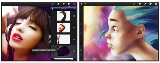 Procreate für iPad Screenshot