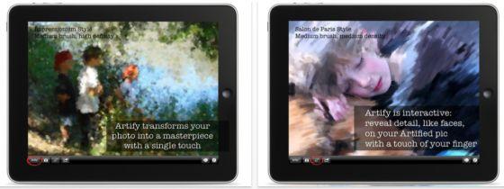 Artify App Screenshots