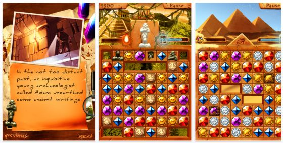 Crystals of Atlantis iPhone Spiel Screenshots