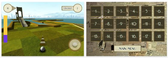 Gatsby's Golf Universal-App Screenshot