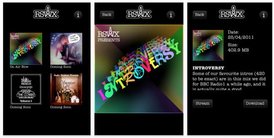 RadioSoulwax Screenshot App für iPhone, iPod Touch und iPad