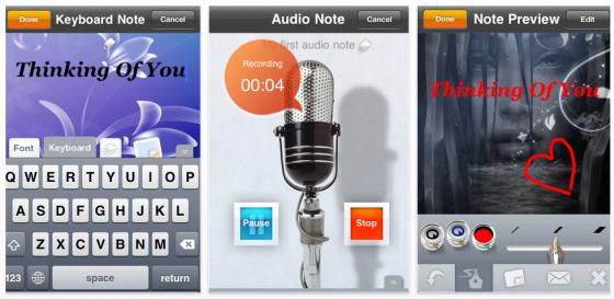 Touch Notes für iPhone