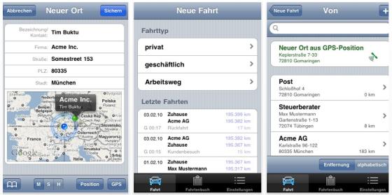 Drivers Log Pro - Fahrtenbuch für das iPhone