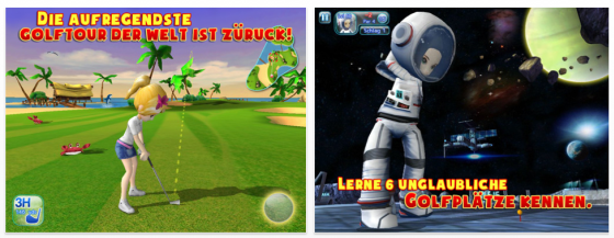 Let's Golf 3 Screenshot