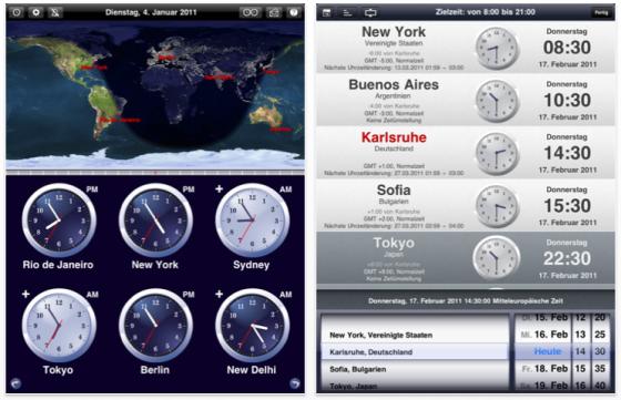 Weltzeituhr - The World Clock Screenshots