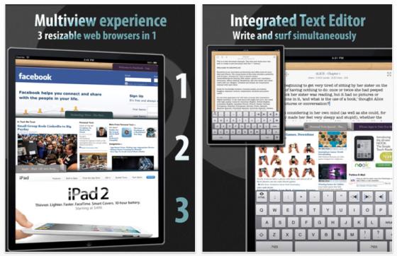 iPhonew und iPad Browser Knowtilus