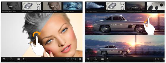 LightboxHD für iPad Screenshots