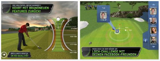 Tiger Woods PGA Golf Tour 12 Screenshot iPad
