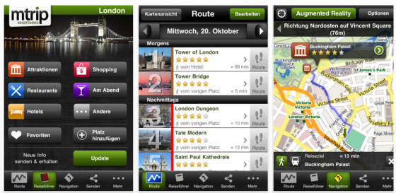 mTrip London Cityguide Screenshot