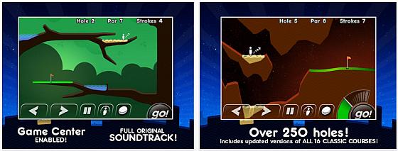 Super Stickman Golf Screenshots