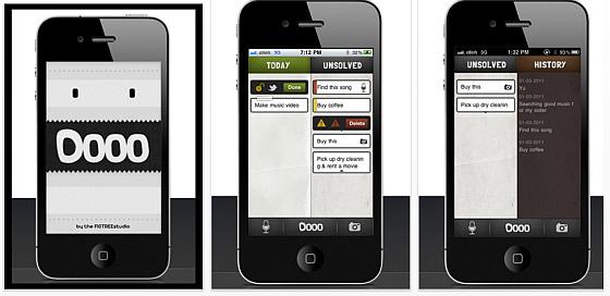 DOOO für das iPhone Screenshots