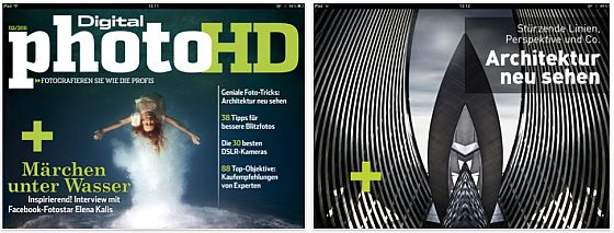 DigitalPHOTO HD 2 Screenshots der iPad App