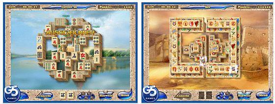 Mahjong Artifacts HD Screen