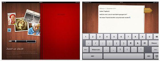 The Diary - Tagebuch-App für das iPad