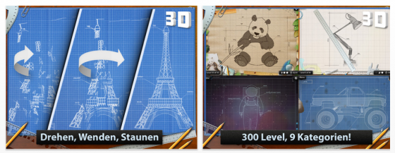 Blueprint 3D für iPhone und iPod Touch Screenshots