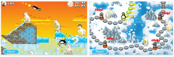 Crazy Penguin Catapult Screenshots