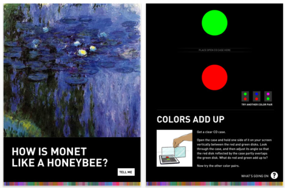 Color Uncovered - Farbinfo-App für das iPad Screenshot