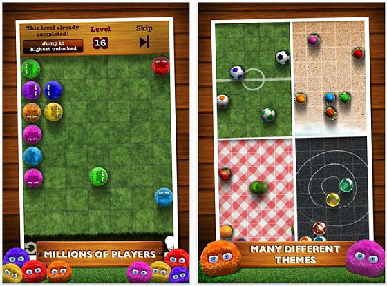 Fling! für iPhone und iPod Touch Screenshots