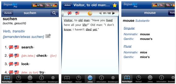 Linguadict Pro Screenshots