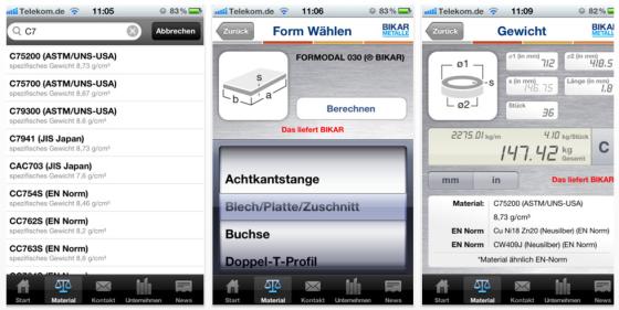 Metal World App für iPhone und iPad