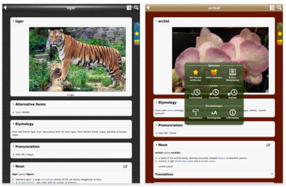 SmartDict Englisch Dictionary iPad-Screenshots