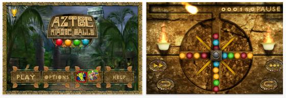 Aztec Magic Ball Screenshots