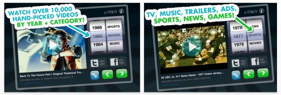 Video Time Machine für iPhone und Ipod Touch sowie iPad - Screenshots