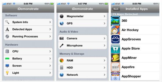 iDemonstrate Screenshots