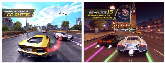 Asphalt 7 von Gameloft Screenshots